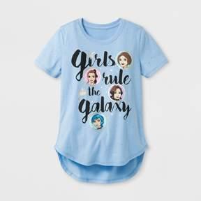 Star Wars Girls' Forces Of Destiny Burntout T-Shirt - Blue