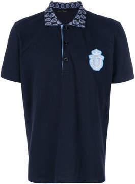 Billionaire chest patch polo shirt