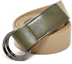 GUESS Men's Double-Ring Belt