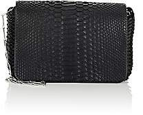 Paco Rabanne Women's Python 14#01 Chain-Mail Small Shoulder Bag-Noir