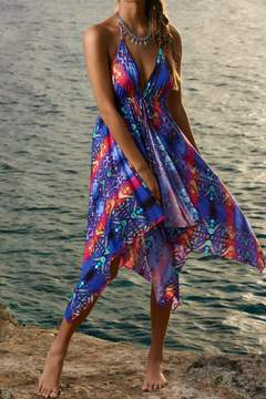 Pilyq Tribal Print Dress