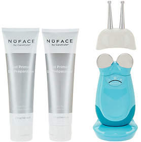 NuFace Trinity Microcurrent Facial Toning Device with ELE Attachment