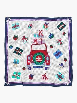 Talbots Car & Presents Silk Scarf