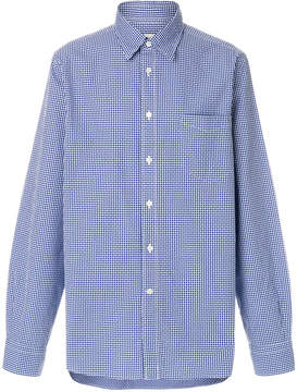Bellerose micro checked shirt