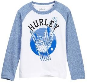 Hurley Wisdom Raglan Sleeve Tee (Toddler Boys)