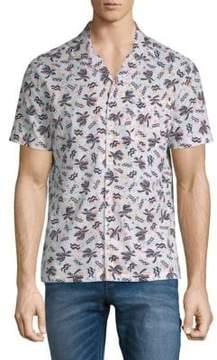 Original Penguin Cotton Palm Tree Shirt