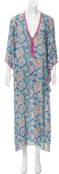 Calypso Fil-Coupé Embellished Dress