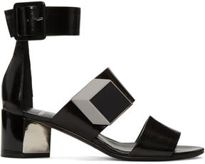 Pierre Hardy Black De DOr Illusion Sandals