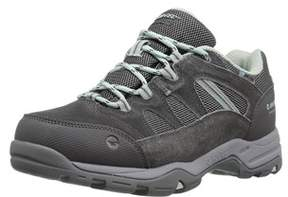 Hi-Tec Womens 22087 Suede Low Top Lace Up.