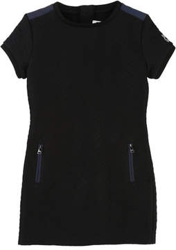 Karl Lagerfeld Quilted Dress w/ Zip Pockets, Size 4-5