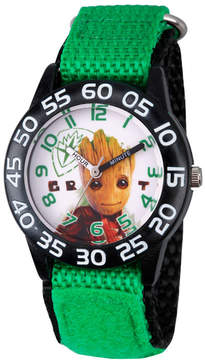 Marvel Guardian Of The Galaxy Boys Green Strap Watch-Wma000129