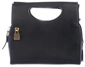 Tom Ford Grained Leather Alix Satchel