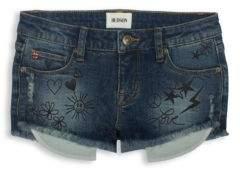 Hudson Toddler's, Little Girl's & Girl's Scribble Embroidered Shorts