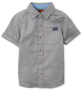 7 For All Mankind Boys 4-7) Textured Short Sleeve Button-Up Shirt
