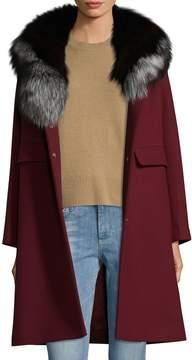 1 Madison Women's Shawl Fur Coat