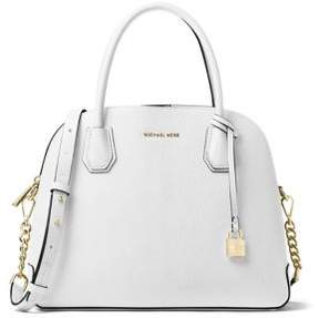 MICHAEL Michael Kors Dome Leather Satchel - ACORN - STYLE
