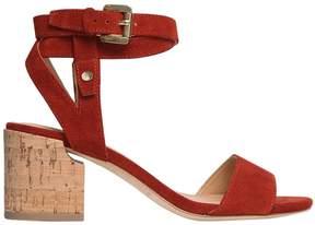 Sigerson Morrison 60mm Wrap Around Suede Sandals