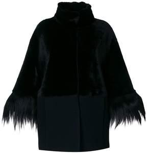 Drome high neck coat