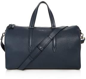 Salvatore Ferragamo Firenze Tumbled Calfskin 24-Hour Bag