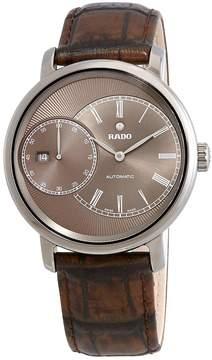 Rado Diamaster Automatic Brown Dial Men's Watch