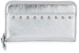 Sam Edelman Studded Zip-Around Wallet