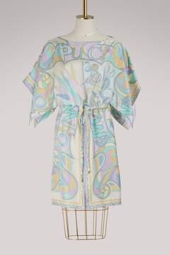 Emilio Pucci Miami printed silk dress
