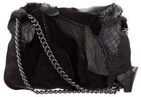 Balmain Crocodile Patchwork Crossbody Bag