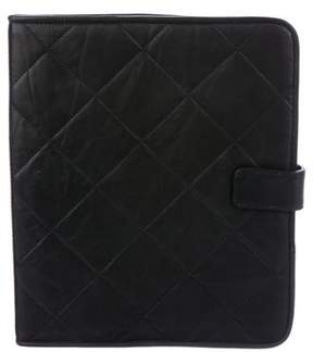 Lanvin Quilted Leather iPad Case