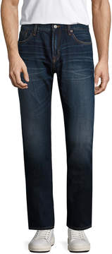 Jean Shop Men's Mick Cotton Straight Leg Jeans