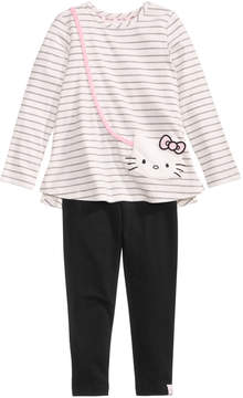 Hello Kitty 2-Pc. Purse Tunic & Leggings Set, Little Girls (4-6X)