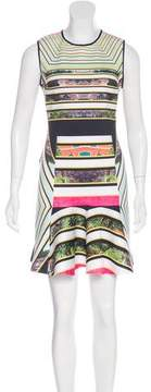 Clover Canyon Abstract Print A-Line Dress