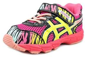 Asics Turbo Ts Toddler Round Toe Synthetic Pink Running Shoe.