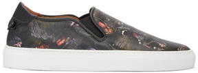 Givenchy Black Monkey Skate Slip-On Sneakers