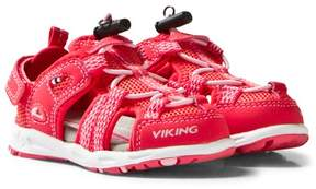 Viking Dark Pink/Coral Loke Sandals