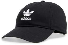 Women's Adidas Trefoil Baseball Cap - Black