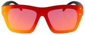 Topshop Matrix rimless visor sunglasses
