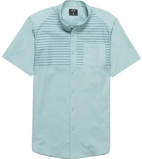Oakley Top Stripe Woven Short-Sleeve Shirt - Men's