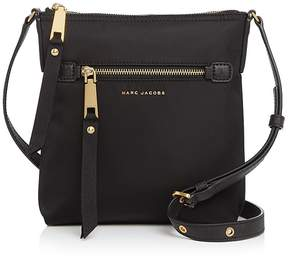 Marc Jacobs Trooper North/South Crossbody - BLACK/GOLD - STYLE