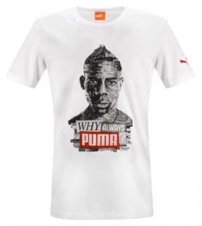 Puma Mens Balo Graphic T-Shirt White XL