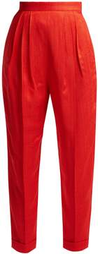 DELPOZO High-rise pleated trousers