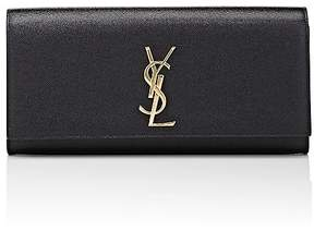 Saint Laurent Women's Monogram Kate Clutch - BLACK - STYLE