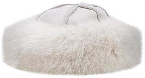 Loro Piana fur trim flat hat