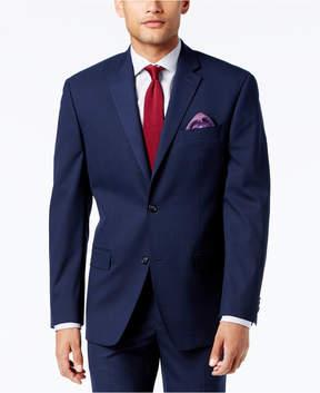 Sean John Men's Classic-Fit Stretch High Blue Glen Plaid Suit Jacket