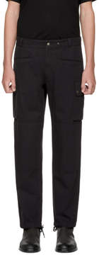 Maison Margiela Black Cotton Cargo Pants