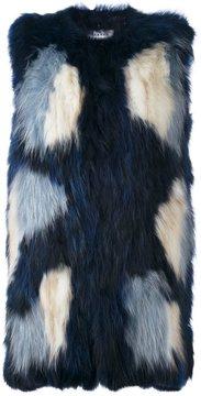 P.A.R.O.S.H. fur vest