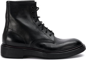 Premiata lace-up army boots