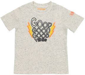 Zadig & Voltaire Skull Embroidered Slub Cotton T-Shirt
