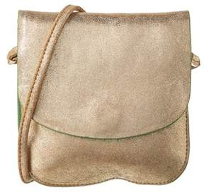 Maje Sunrose Leather Crossbody.