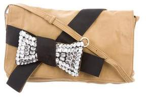 See by Chloe Jeweled Embellished Bow Crossbody Bag