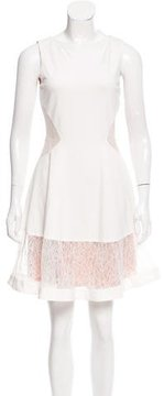 Erin Fetherston Lace-Accented Mini Dress w/ Tags